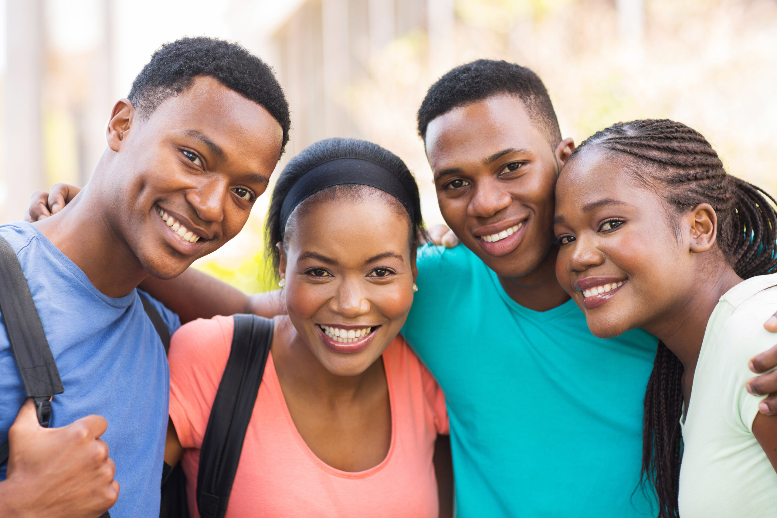 group of black students scaled